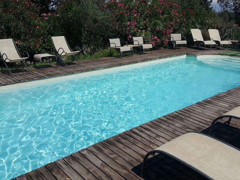 Vitorchiano Villa Sleeps 24 with Pool Air Con and WiFi - 5364868, casa vacanza a Grotte Santo Stefano