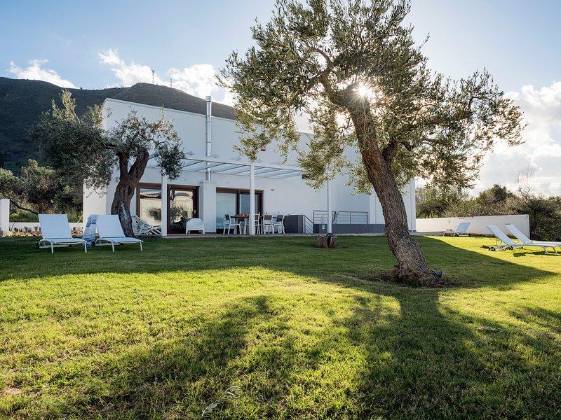 Settefrati Villa Sleeps 6 with Air Con and WiFi - 5639298 – semesterbostad i Capo