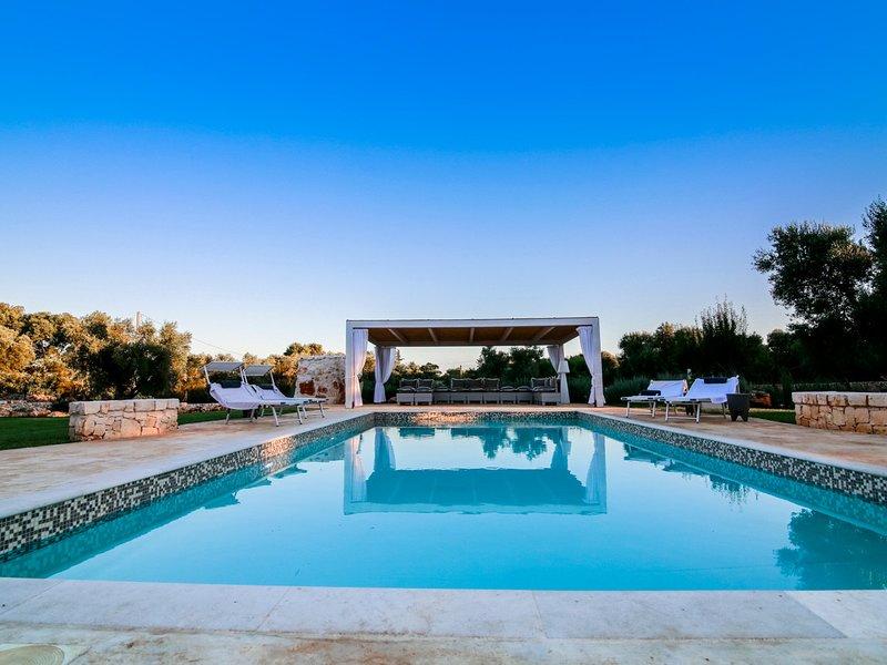 Capece Villa Sleeps 8 with Pool Air Con and WiFi - 5313276 – semesterbostad i Capece