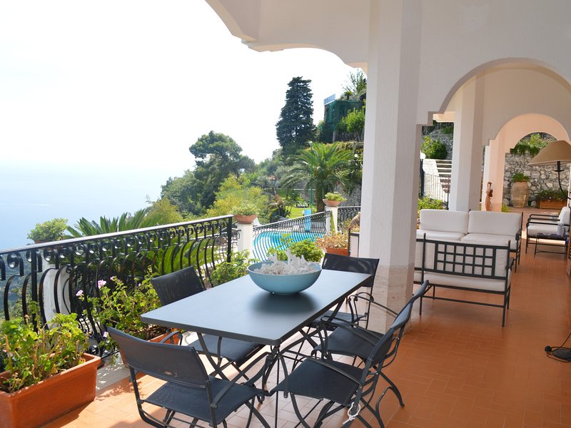 Scala Villa Sleeps 9 with Pool Air Con and WiFi - 5248257, vacation rental in Scala