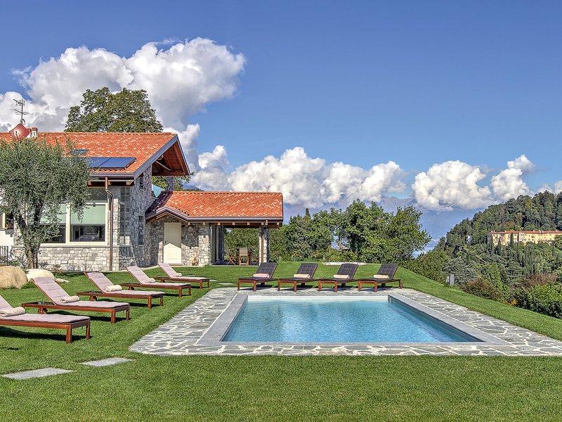 Bellagio Villa Sleeps 10 with Pool Air Con and WiFi - 5248330, vacation rental in Bellagio