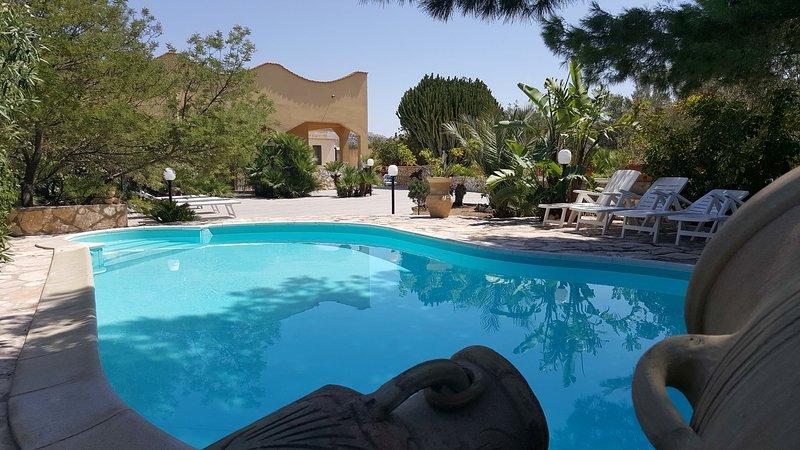 Villa Alba, holiday rental in Valderice
