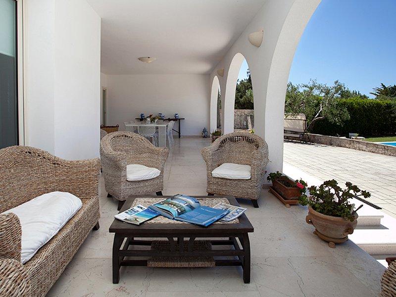 Salignano Villa Sleeps 14 with Pool Air Con and WiFi - 5248130, vacation rental in Santa Maria di Leuca