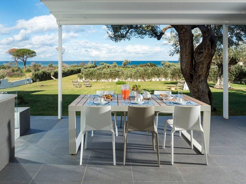 Settefrati Villa Sleeps 6 with Air Con and WiFi - 5639307 – semesterbostad i Capo