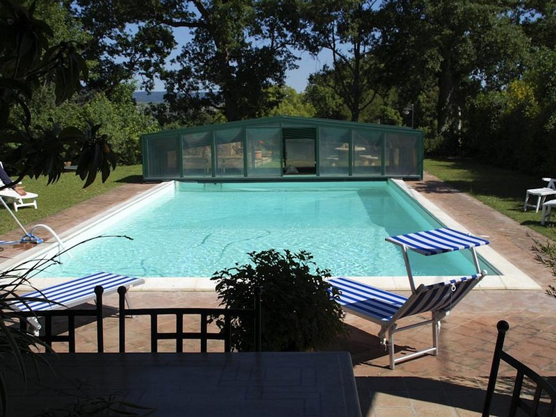 Celle sul Rigo Villa Sleeps 8 with Pool and WiFi - 5247815, vacation rental in Trevinano