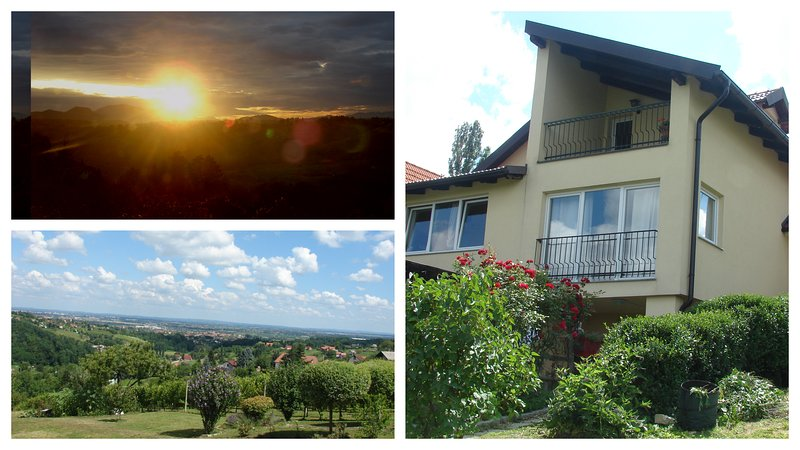 Vineyard Villa Varazdin Apartment 'Million Dollar View', casa vacanza a Donje Makojisce