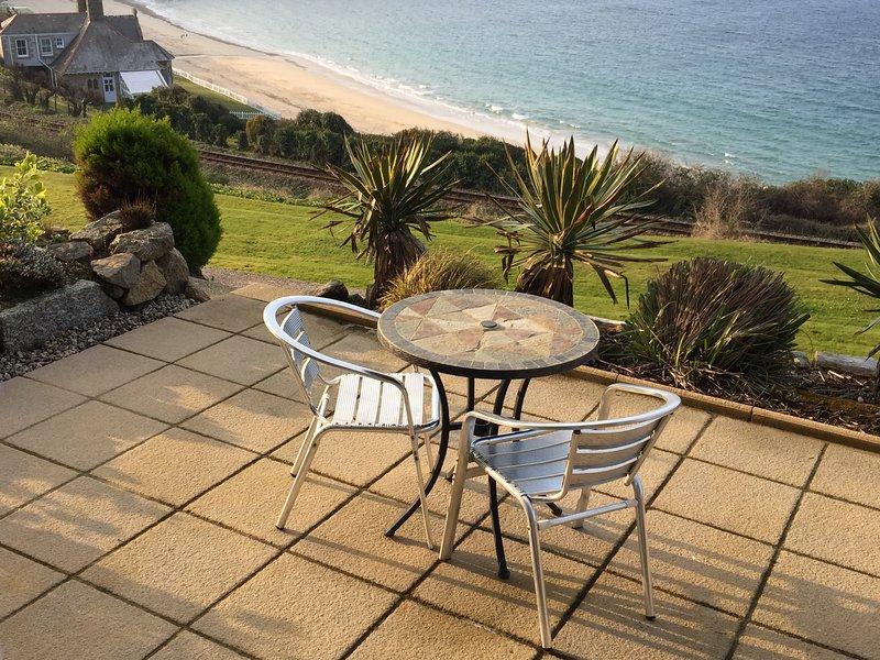 Sweeping views across Carbis Bay Beach