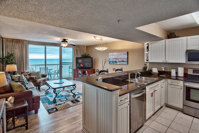 Pelican Upgraded 11th flr 1 bedroom -on the beach-, holiday rental in Destin