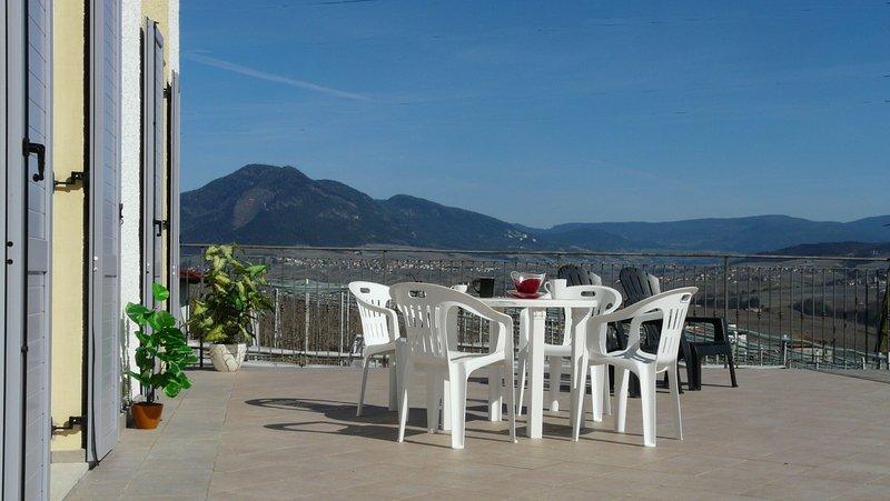 Lasca Vacanze nella tranquillità del centro Val di Non nel parco Adamello Brenta, Ferienwohnung in Caldes