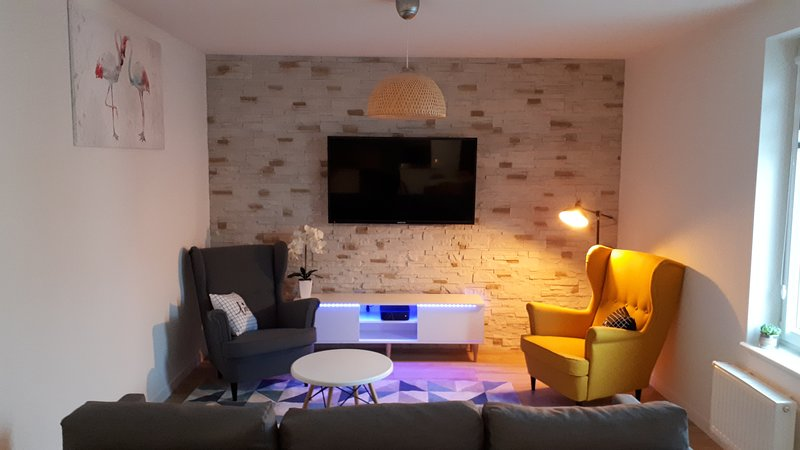 Lux Appartament 67 m2, holiday rental in Morzyczyn