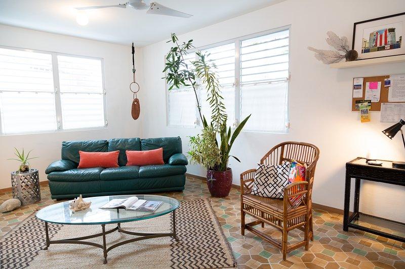 LA CASA BLANCA| ARCO • 2 Bedrooms Apartment, vacation rental in San Juan