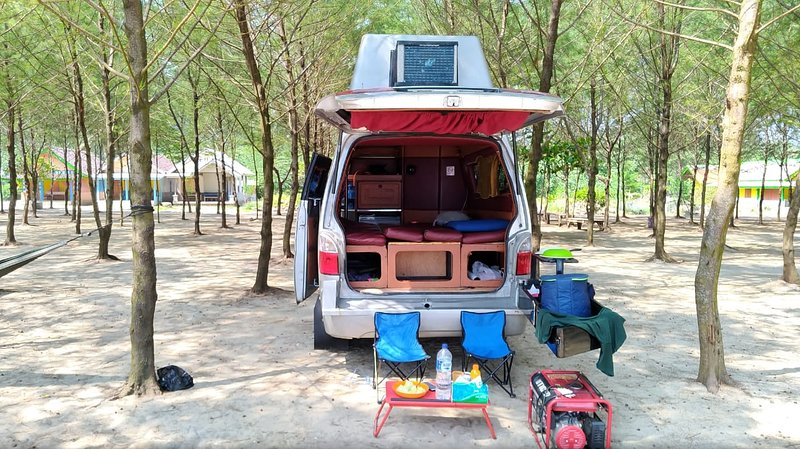 Campervan for hire. Let's have a roadtrip java bali, holiday rental in Sewon