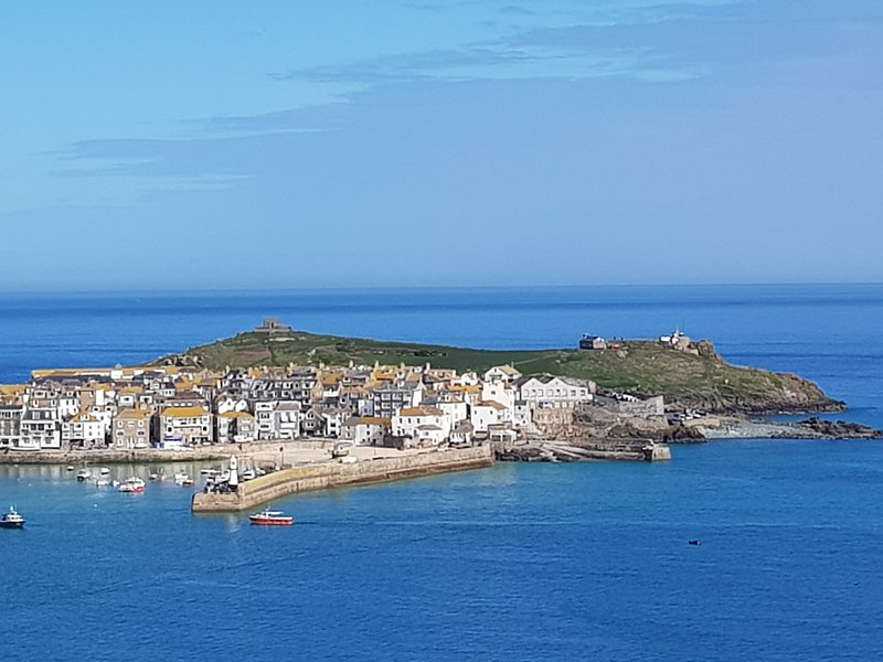 St. Ives, harbour and island