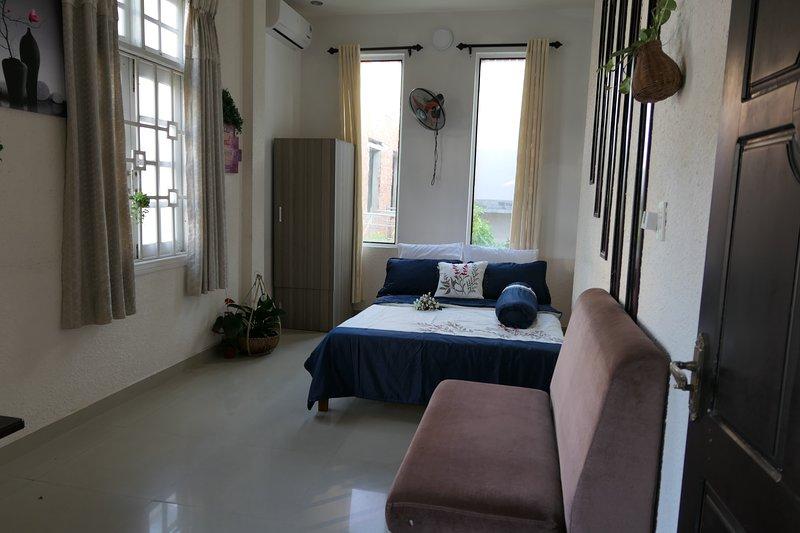 Friendly Homestay - wind -sharebathroom, casa vacanza a An Hai Tay