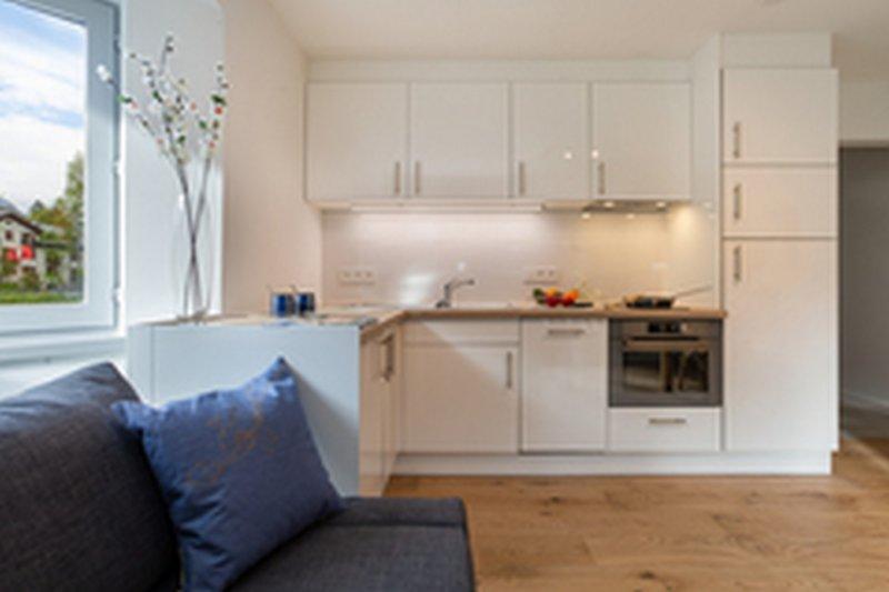Moderne en volledig uitgeruste keuken