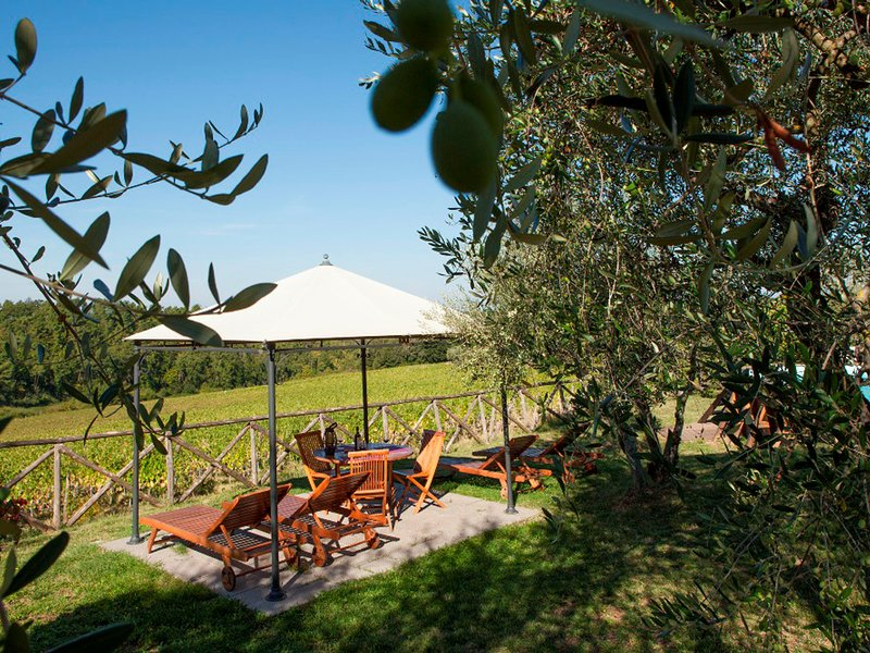 San Casciano in Val di Pesa Villa Sleeps 12 with Pool Air Con and WiFi - 5311114, holiday rental in Calcinaia