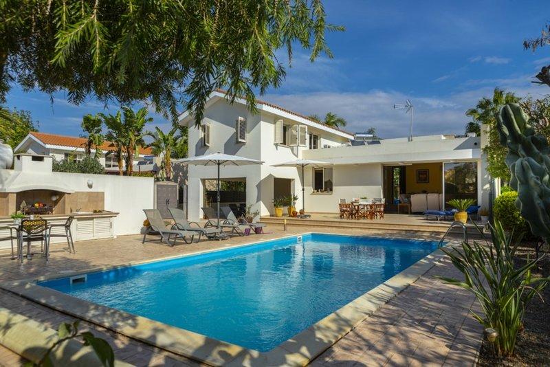 The Secret to Enjoying Your 5 Star Villa close to the Beach near Larnaca, Villa, holiday rental in Pervolia