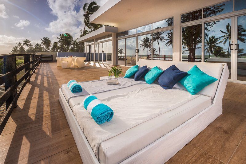 All-inclusive luxury villa on the beach, alquiler de vacaciones en Espaillat Province