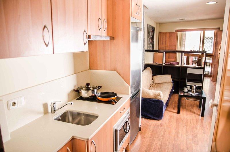 Loft 2 personas Distrito Romano, holiday rental in Cartagena