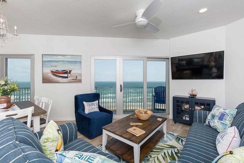 Aquarius 001 - Penthouse, Newly Renovated and Refurnished, Panoramic Ocean, alquiler de vacaciones en Isla del Padre Sur