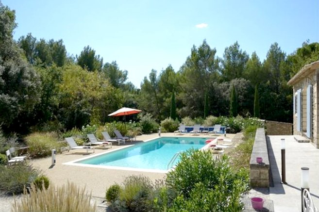 Location avec piscine provence, holiday rental in Beaumettes