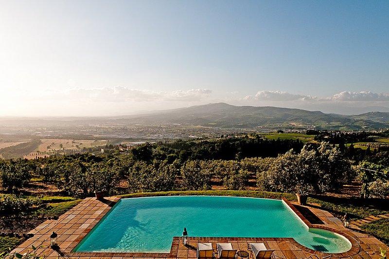 Villa Collarina A, holiday rental in Sammontana