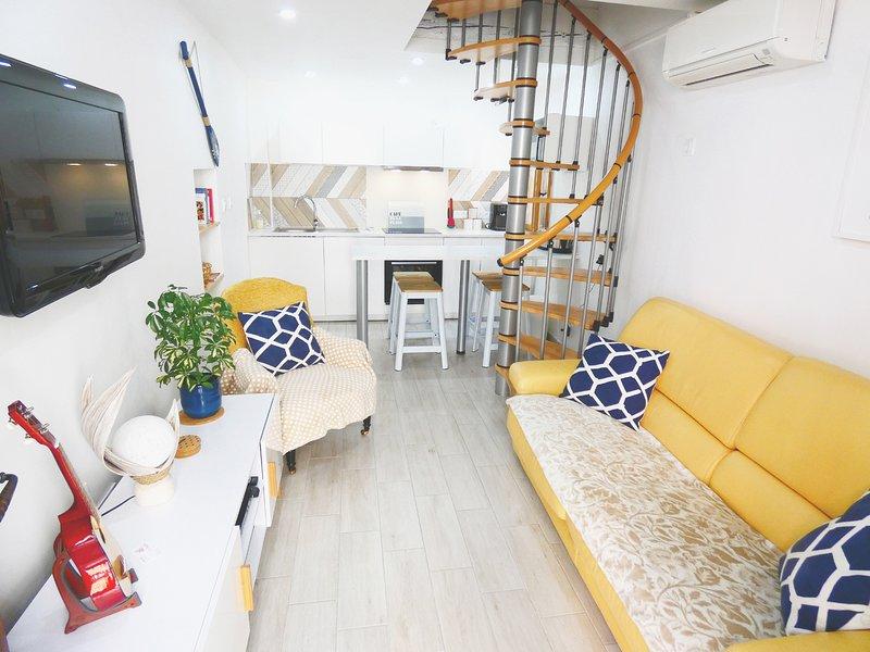 Le Pouffre, T3, 4 pers. maison de pêcheur, meublé de Tourisme 3*, clim, Wifi, vacation rental in Sete