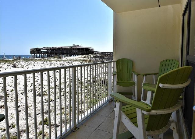 Vista sul balcone di Sea-n-sud