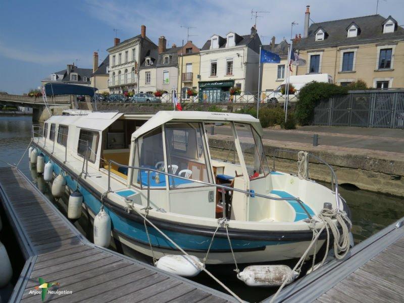 Bateau sans permis 5 a 11 personnes Marina 1400, casa vacanza a Avoise
