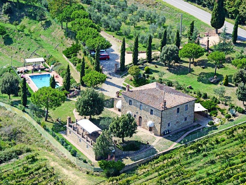 Fornoli Villa Sleeps 16 with Pool and WiFi - 5639276, holiday rental in Scrofiano