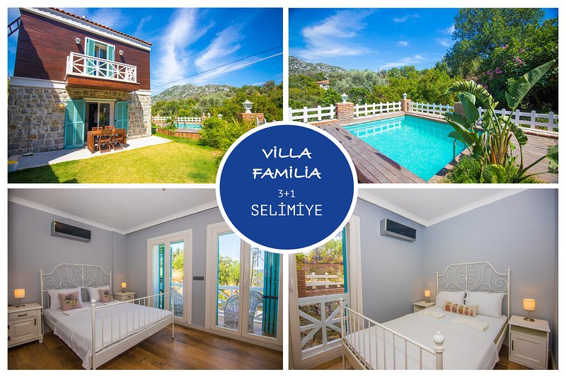 Villa Familia Selimiye Daily Weekly Rentals, holiday rental in Sogut