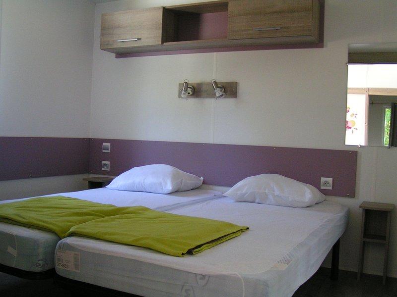 LOCATION MOBIL-HOME en Suisse Normande, location de vacances à Vassy