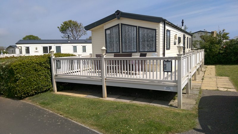 Distinct Caravans, vacation rental in Filey