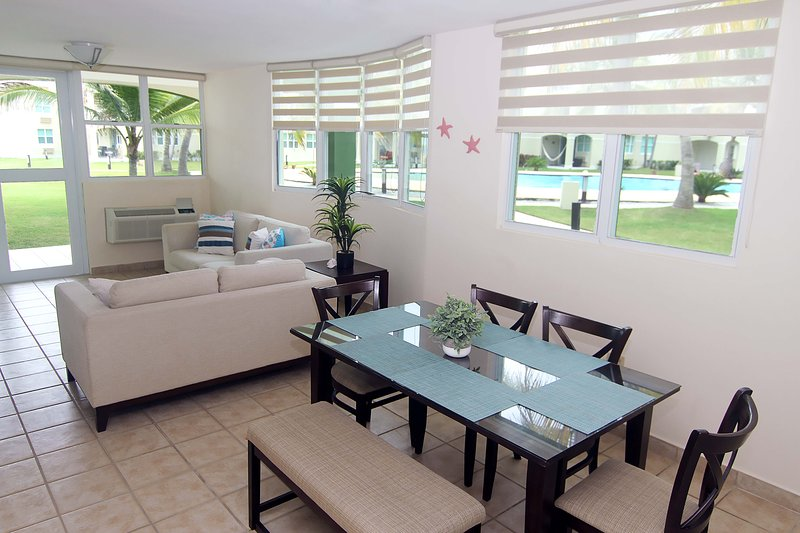 #18 Beachfront Apt 3Br/2Ba Jobos, Montones, Shacks, Crash Boat, Villa Montaña, holiday rental in San Antonio