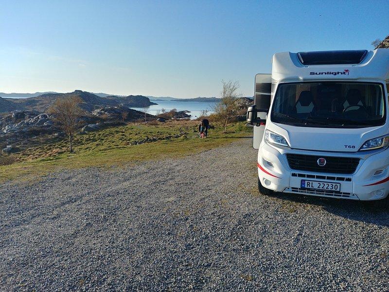 Sunlight Camper car, holiday rental in Hjelmeland