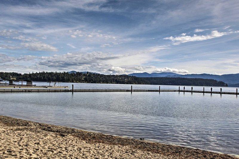Hayden Lake é verdadeiramente a jóia escondida de Idaho!