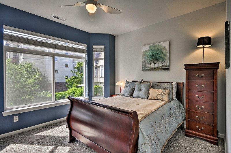 La seconda camera dispone di un letto full-size.