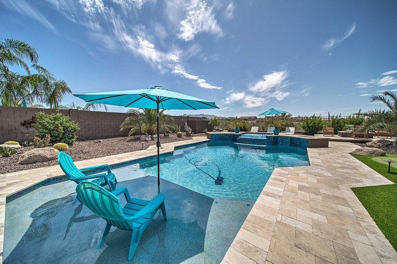 Upscale Goodyear Home w/ Resort-Style Pool & Spa!, holiday rental in Buckeye
