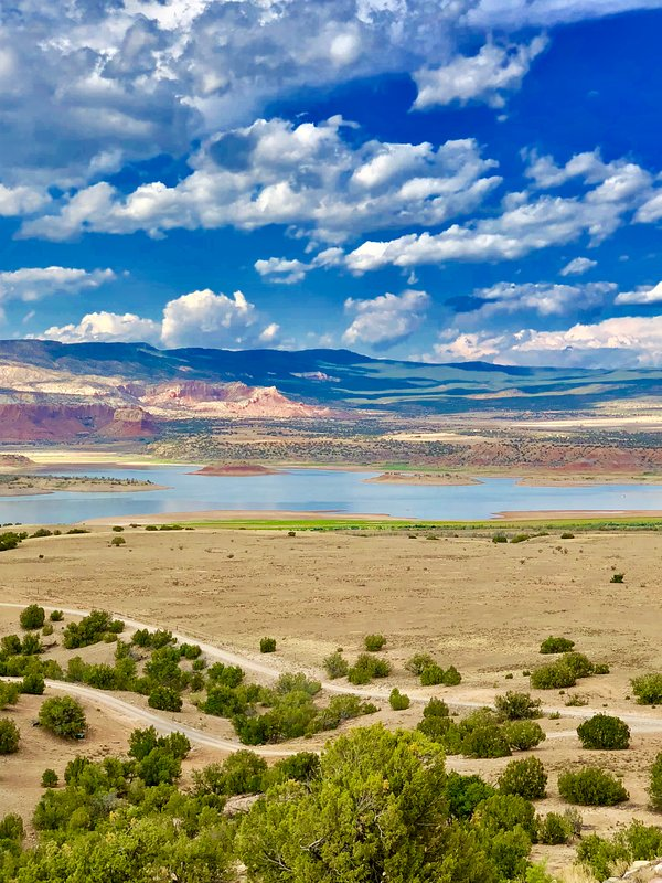 Beautiful Abiquiu Lake.