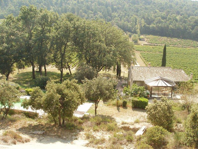 bulle de nature et de calme, location de vacances à Entrechaux