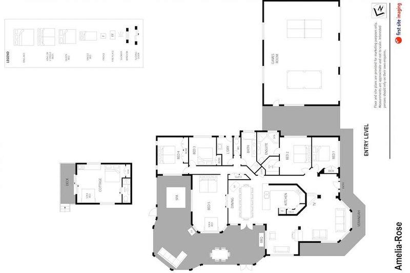 Alojamento em Hunter Valley - Amelia-Rose - Lovedale - Floor Plan