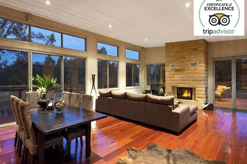 Alojamiento en Hunter Valley - Blue Cliff Retreat - Pokolbin - Sala de estar