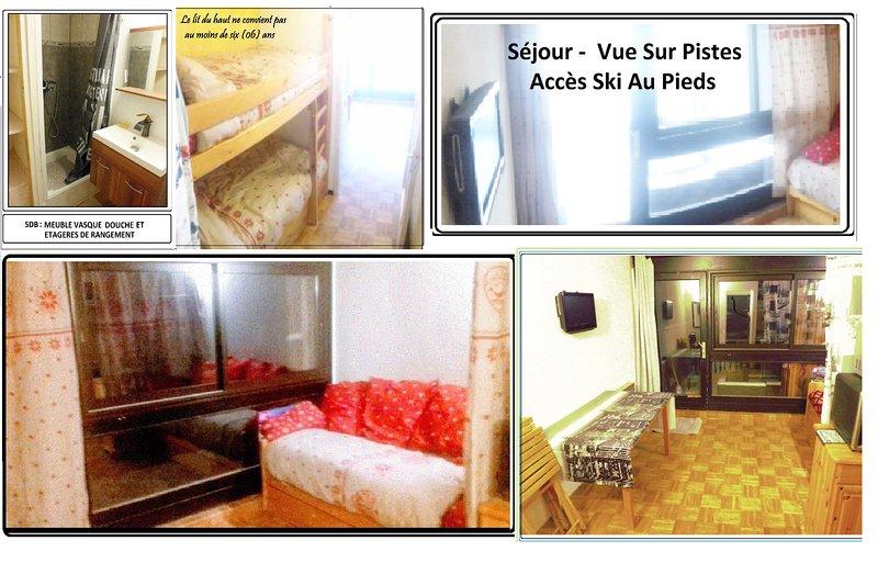 Location studio vacances Montagne  dans les Hautes Alpes, location de vacances à L'Argentière-la-Bessée