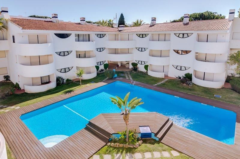 Palmeiras do Golfe - 3 bed. apartment - Vilamoura, Ferienwohnung in Quarteira