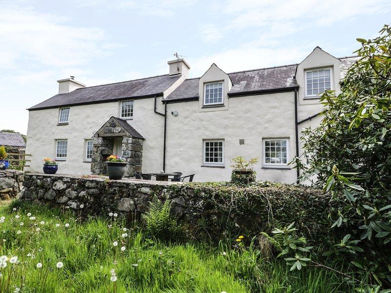 Grafog Farm Cottage, Groeslon, holiday rental in Dinas Dinlle