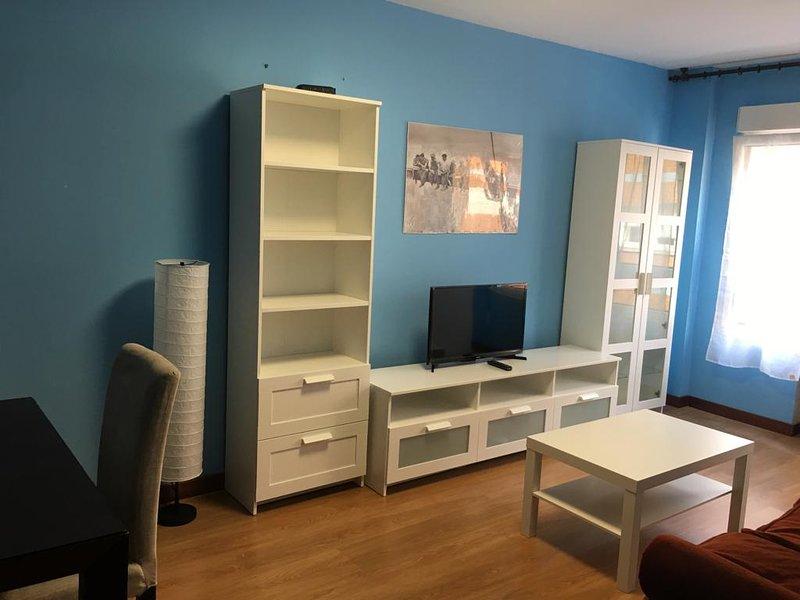 Piso 3 hab.2 baños en el centro de Gijón, a 2 minutos de la playa San Lorenzo, holiday rental in Somio
