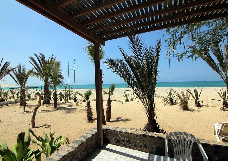 Camera sulla spiaggia #9.1, Praia de Chaves, Boa Vista, Cabo Verde, holiday rental in Boa Vista