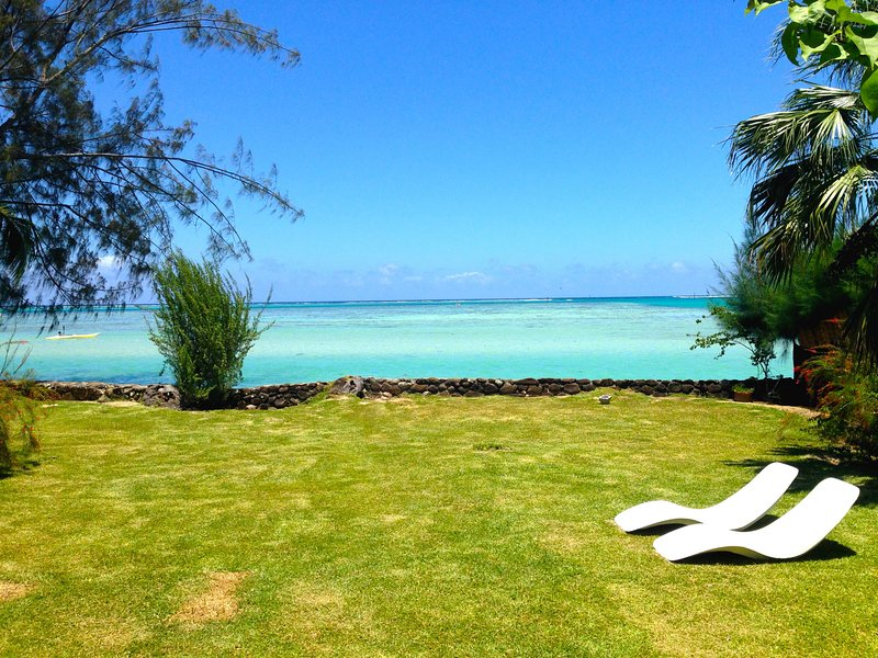 #4 Beach Villa Bliss by TAHITI VILLAS, holiday rental in Ha'apiti