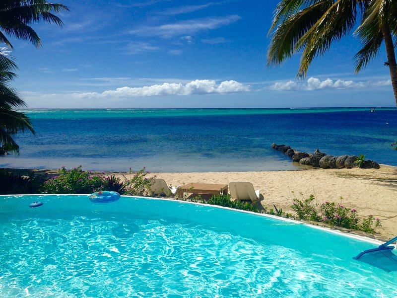 #1 Beach Villa Bliss by TAHITI VILLAS, vacation rental in Maharepa
