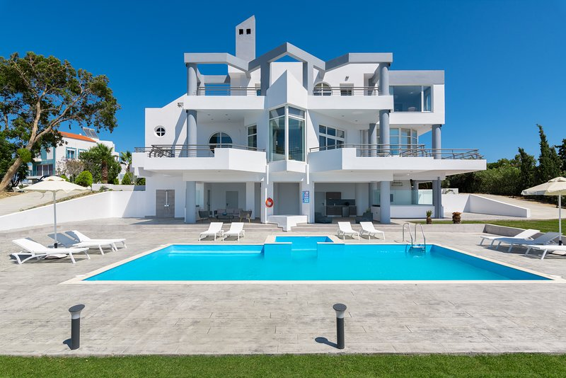 Monte Smith Luxury Villa – semesterbostad i Rhodos